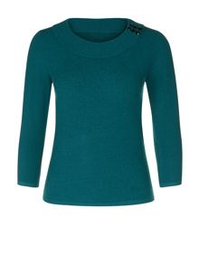Boucle Ribbed Jumper