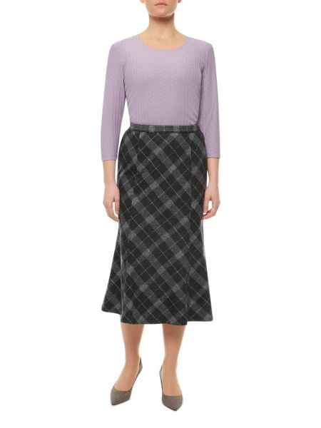Eastex Check Cutabout Skirt