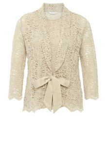 Eastex Gold Lace 2 In 1 Top