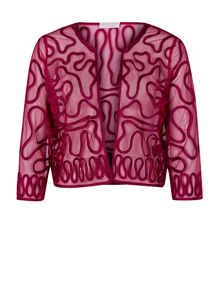 Windsmoor Raspberry Cornelli Jacket
