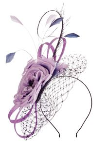 Jacques Vert Veil Flower Fascinator