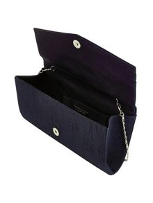 Jacques Vert Stripe Clutch Bag