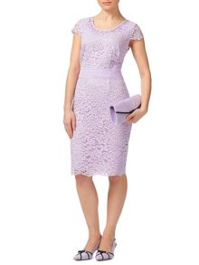 Jacques Vert Petite Elegant Lace Dress