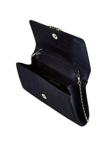 Piping Detail Clutch Bag