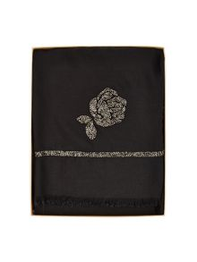 Jacques Vert Flower Beaded Scarf
