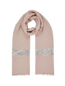 Jacques Vert Sequin Border Scarf