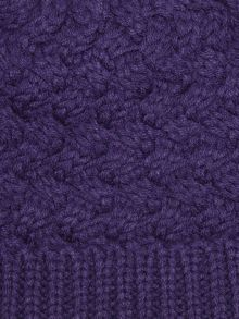 Dash Knitted Hat Purple