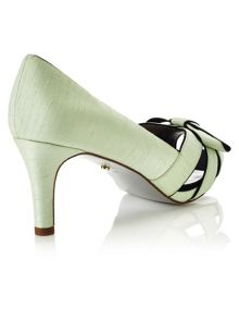 Jacques Vert Piped Bow Platform Shoe