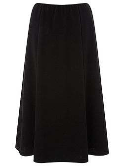 Petite Pull On Ponte Skirt