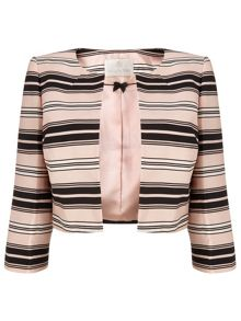 Jacques Vert Stripe Crop Jacket