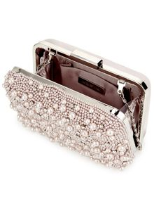 Jacques Vert Pearl Embellished Clutch Bag