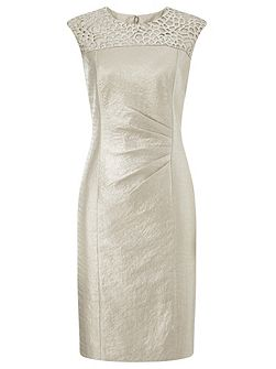 Oyster Lace Shimmer Dress