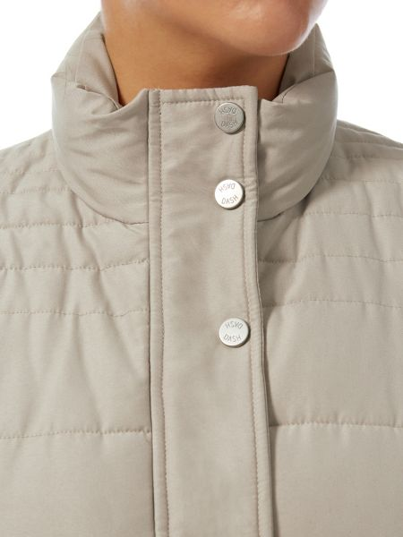 Dash Stone Peached Padded Gilet