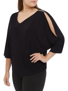 Windsmoor Jersey Batwing Top