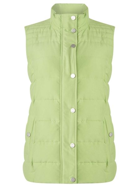Dash Lime Peached Padded Gilet