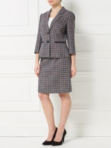 Precis Petite Jeff Banks Tweed A Line Skirt