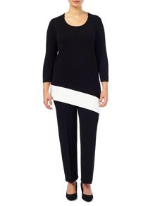 Windsmoor Colour Block Jumper