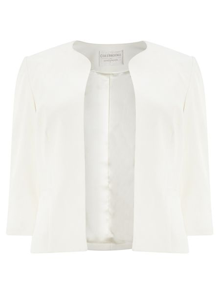 Windsmoor Ivory 3/4 Sleeve Jacket