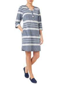 Dash Cotton Stripe Dress