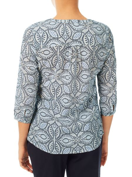 Dash Mosaic Swril Blouse