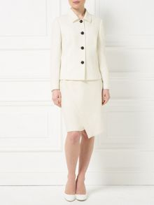 Precis Petite Jeff Banks Seam Detail Jacket