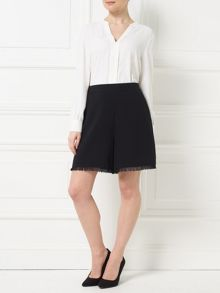 Precis Petite Jeff Banks Frayed Hem Shorts