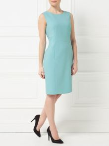 Precis Petite Jeff Banks Aqua Shift Dress