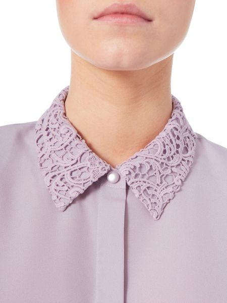 Eastex Lace Collar Blouse