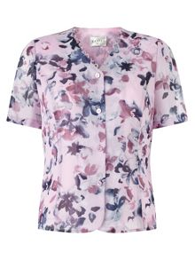 Eastex Watercolour Floral Blouse