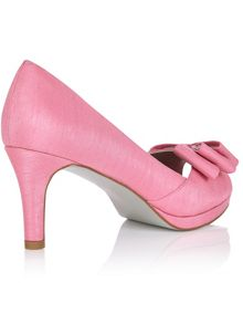 Jacques Vert Layered Bow Trim Shoe