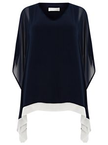 Windsmoor Navy And Ivory Kaftan