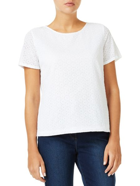 Dash Broidery Top