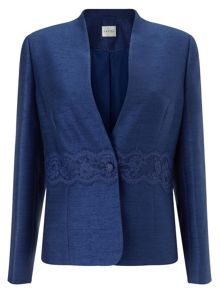 Eastex Shantung Lace Waist Jacket