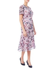 Eastex Watercolour Floral Skirt