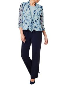 Eastex Watercolour Blossom Blouse