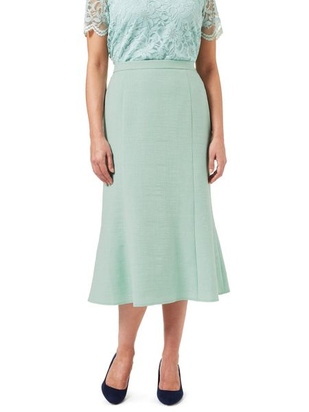 Eastex Melange Fit & Flare Skirt