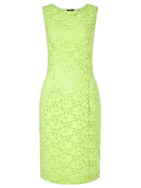Precis Petite Green Jasmin Lace Dress