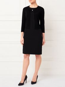Precis Petite Jeff Banks Black Cropped Shrug