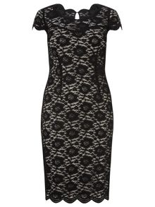 Windsmoor Lace Shift Dress