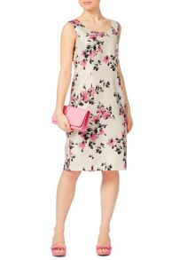 Jacques Vert Petite All Over Flower Dress