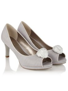 Jacques Vert Rose Bud Trim Shoe