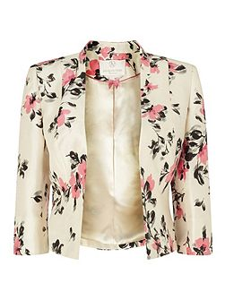 Petite All Over Flower Jacket
