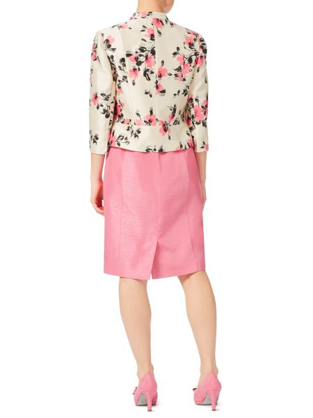Jacques Vert Petite All Over Flower Jacket