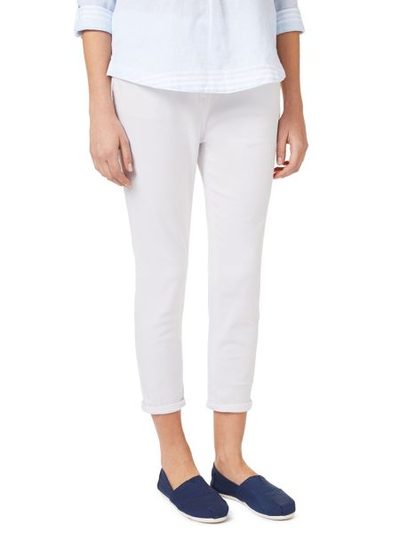 Dash White Crop Jean