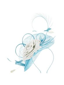 Jacques Vert Two Tone Flower Fascinator