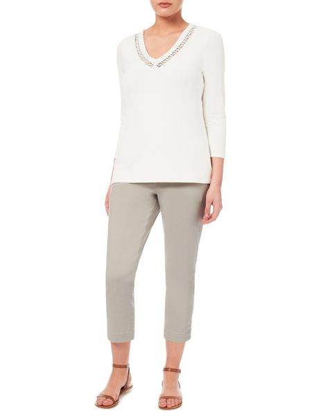 Windsmoor Stone Cropped Trouser