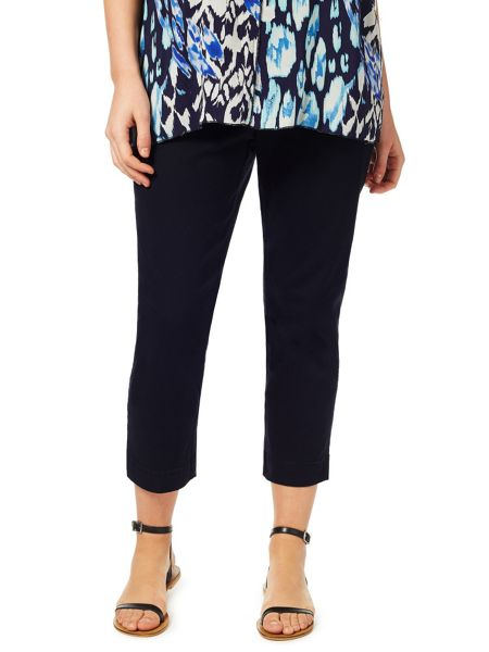 Windsmoor Navy Cropped Trouser