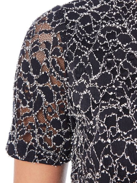 Eastex Two Tone Lace Top