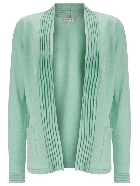 Eastex Pleat Detail Cardigan