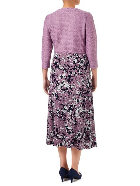 Eastex Shadow Blossom Jersey Skirt